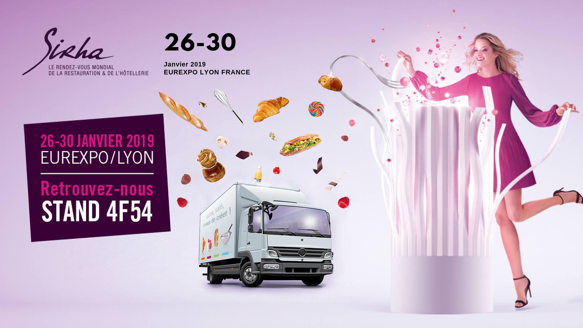 SIRHA du 26 au 30 janvier 2019   Eurexpo à Lyon