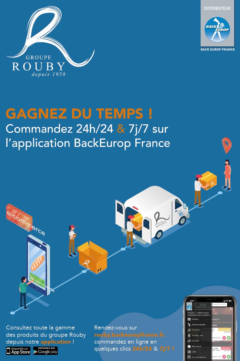 Application e-commerce Back Europ France !